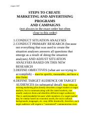 Steps to Create Advertising August 2007.doc