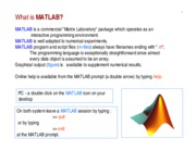 MATLAB tutorial by Dr Ben-Hamza