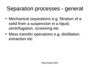 Liquid-liquid extraction principles