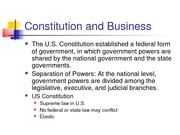 Constitutional Law (chapter 4)