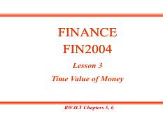 Fin 2004 corporate finance national university of singapore 69 pages lesson 03 time value of moneypdf fandeluxe Gallery