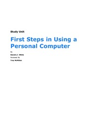 Study Unit - First Steps in Using a Personal Computer.pdf