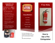 Fire Extinguisher Brochure [draft 2]