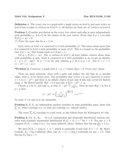 MATH 544 Fall 2014 Assignment 3 Solutions