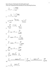 Test 3 Carbonyls Mechanisms Practice-Compressed