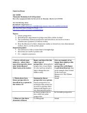 Thematic Worksheet #2
