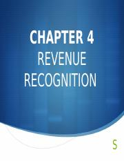 Financial Accounting 1 - Chapter 4