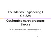 3 - Lateral Earth Pressure