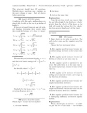 Homework 11 - Practice Problems; Rotation. Fluids-solutions