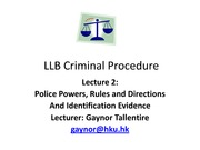 LLB Crim Pro Lecture 2 2012 student copy