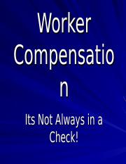 Worker Compensation 15 a332
