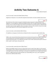 Activity Two A.docx