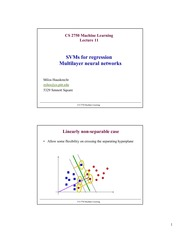 Lecture Notes H on Machine Learning