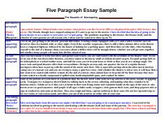 Five-Paragraph-Essay-Sample