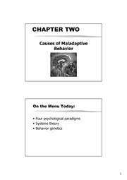 Chapter 2 Causes of Abnormal Behavior %28compass%29