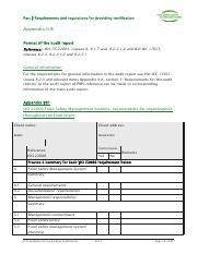 qms audit checklist
