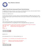 Alg1EOC_PracticeTest_with answers