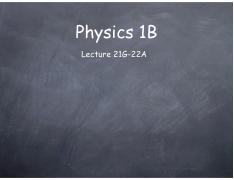 Lecture 21G-22A