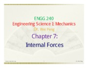Chapter 7 Internal Forces