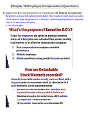 Chapter 19 Employee Compensation Questions.docx