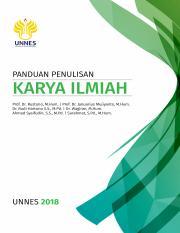 Buku Panduan Penulisan Karya Ilmiah 2018 Isbn Upload Pdf Panduan Penulisan Karya Ilmiah Prof Dr Rustono M Hum Prof Dr Januarius Mujiyanto M Hum Dr Course Hero