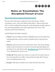 Notes on 'Essentialism_ The Disciplined Pursuit of Less'.pdf
