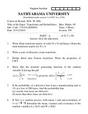(www.entrance-exam.net)-Sathyabama University M.E-W-Applied Electronics- Transforms and Probabilitie
