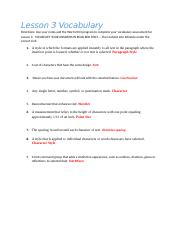 Word Lesson 3 Vocabulary.docx