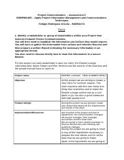 Felippe Arruda_S40054174_Project Communication – Assessment 2.docx
