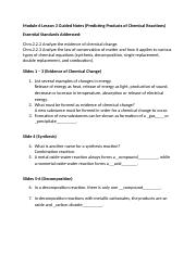 Honors Chemistry Module 6 Lesson 3 Guided Notes_katiemueller.doc
