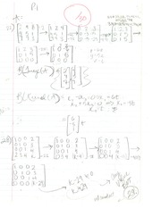 Linear Algebra Problem Set #5 (Kernel and Image)