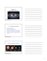 Slide Handouts Chapter 11