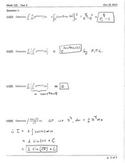 Math 122 Test #1 Version B Solutions