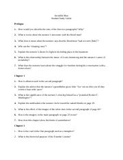 Invisible Man_Study Guide Questions_Complete