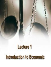 Lecture 01 - Introduction to Economics.pdf