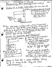 Heat energy notes