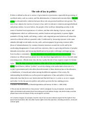 LDG assignment The role of law in politics.docx
