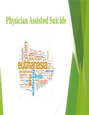medically assisted suicide essay Free essays from bartleby | assisted suicide introduction in order to understand assisted suicide, it is necessary to first know about euthanasia euthanasia.