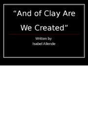 And_of_Clay_Are_We_Created.ppt.ppt
