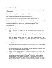 Econ 315 Final Study guide W ANSWERS.docx