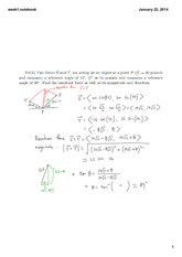 Week 1-4 Lecture on Engineering Math 1