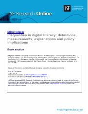Inequalities in digital literacy- definitions, measurements, explanations and policy implications.pd