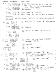 Sample Midterm I Solutions