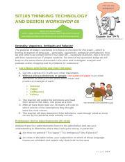 SIT105 201801 Major Assign Details pdf - Deakin College SIT105