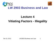 LW2903 Business Law 4(1)