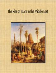 The Rise of Islam.ppt