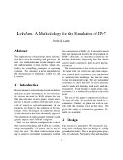 LothArm A Methodology for the Simulation of IPv7.pdf
