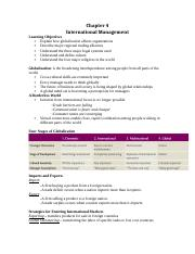 Chapter 4 International Management.docx