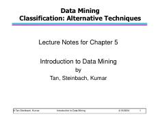 Chap4 Basic Classification Up Pdf Data Mining Classification Basic