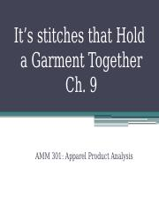 3 Stitch Classification CH. 9 W17.pptx